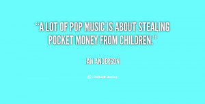 Pop Song Quotes