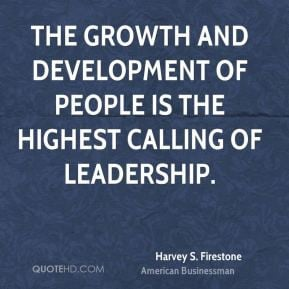 Growth and Development Leadership Quotes