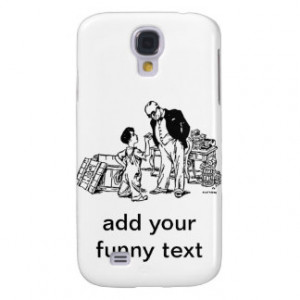 Little Boy and the Banker - Add Your Funny Text Samsung Galaxy S4 ...