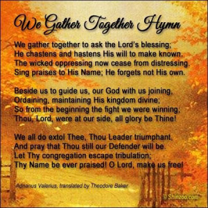Thanksgiving prayer 2