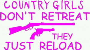 Don't mess with a country girl!