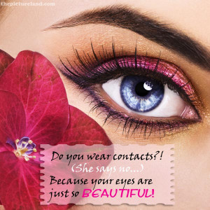 Flirt Love Pictures About Eyes And Red Rose With Romantic Sayings