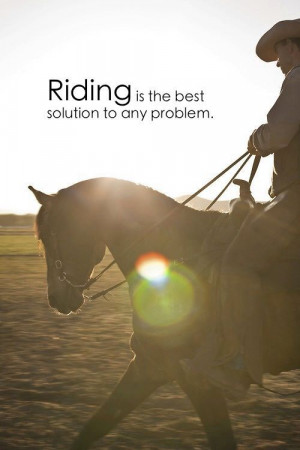Horse Quotes for Cowgirls