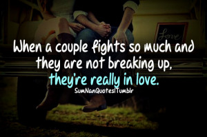 Couple Fighting Quotes Couple fight cute love perfect
