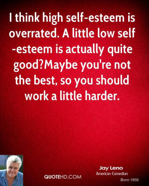 Think High Self Esteem...