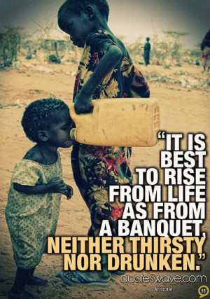 Thirsty People Quotes Neither thirsty nor