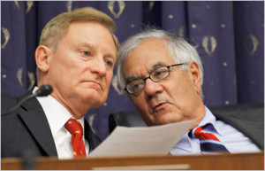 Spencer Bachus, left, the Republican chairman of the House Financial ...