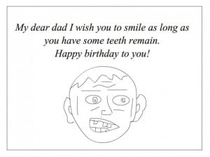 20 Funny Birthday Wishes and Quotes for Dad