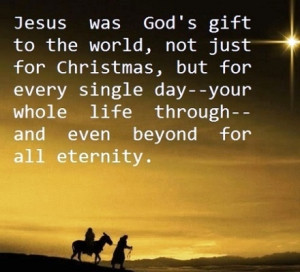 Jesus was Gods Gift