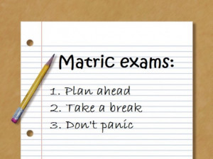 ... of preparing for the final exams – we give tips to help you prepare