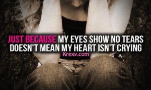Sad-Quotes- Crying