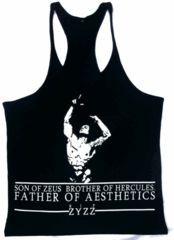 Zyzz Father Of Aesthetics Stringer Vest. More bodybuilding clothing at ...