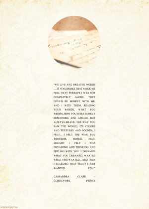 YA MEME | [2/9] quotes: Will Herondale, Clockwork Prince