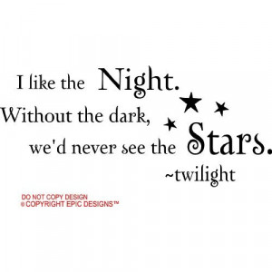 stars twilight cute wall quotes decals sayings vinyl Home & Kitchen