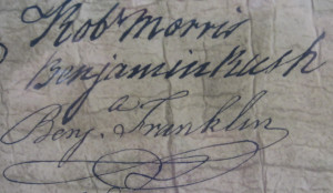 Signature Benjamin Franklin And The Declaration Independence