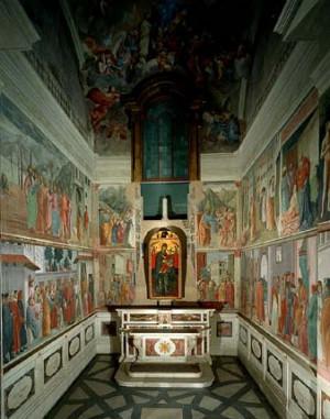 Musei Firenze Cappella...