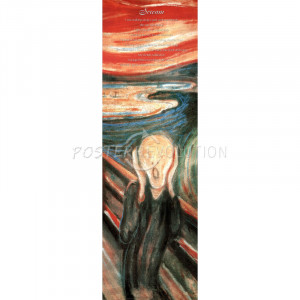 Edvard Munch (Scream, Quotes) Art Poster