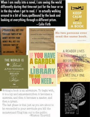 quotes on libraries and reading quotesgram