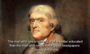 Thomas jefferson, best, quotes, sayings, wise, education, deep