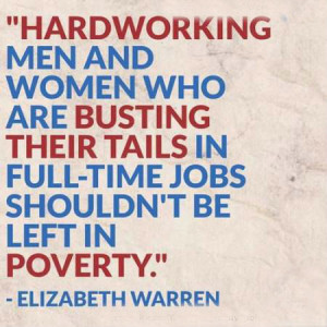 Hardworking men and women who are busting their tails in full-time ...