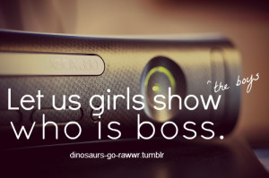Xbox like a Boss swag quote