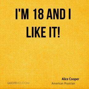 More Alice Cooper Quotes