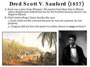 Dred Scott V Sandford Dred scott v sanford 1857