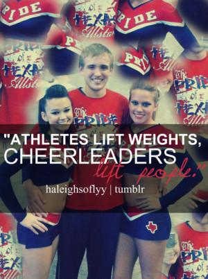 Inspirational Cheerleading