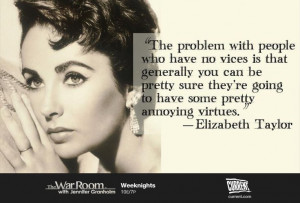 Quote of the day from the lovely Elizabeth Taylor. || #elizabethtaylor ...