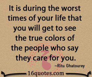 True Colors Quotes See the true colors of the