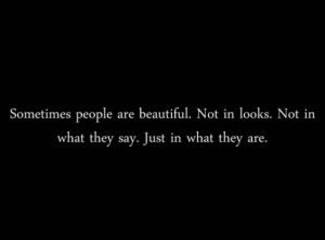 beautiful, beauty, people, quote, sometimes, text