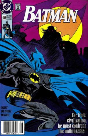 Batman Comic Book Covers