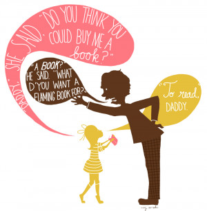 Quote from Matilda by Roald Dahl. I illustrated this for my blog post ...