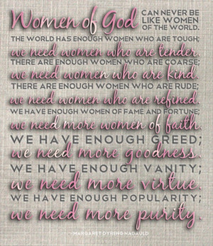 Woman Of God Quotes