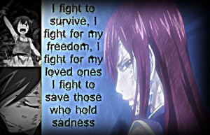 Erza, What I Fight for.. by Xela-scarlet