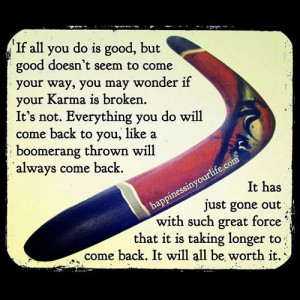 Hope youre doing well quotes quotesgram - All about karma ...