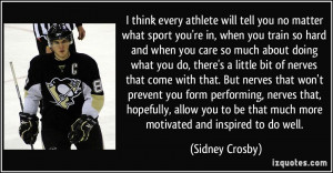 More Sidney Crosby Quotes