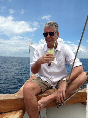 Anthony Bourdain's 12 best quotes about drinking