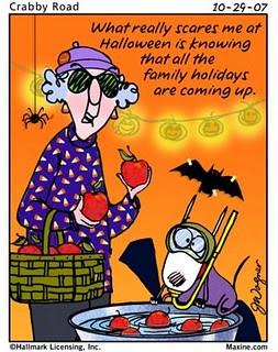 maxine and halloween