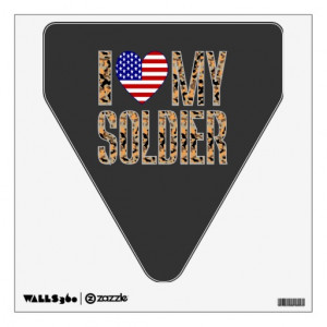 Love My Soldier Graphics I love my soldier room graphics. design ...