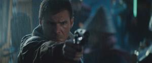 Blade Runner Harrison Ford as Deckard in Bladerunner
