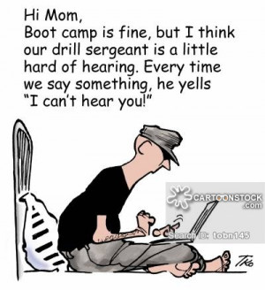 marine boot camp cartoons