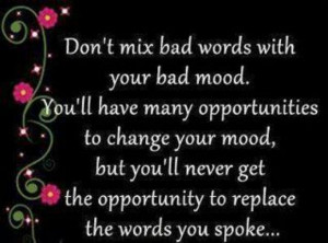 Bad mood quotes inspiration