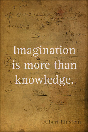 Albert Einstein Quote Imagination Science Math Inspirational Words On ...
