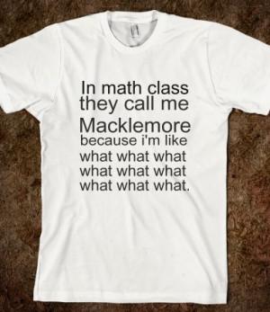 macklemore math - Alohomora - Skreened T-shirts, Organic Shirts ...