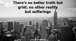... no other reality but sufferings - Ivo Andric Quotes - StatusMind.com