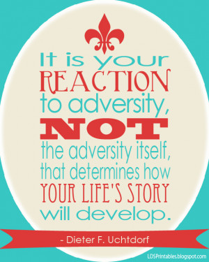 Your Reaction to Adversity