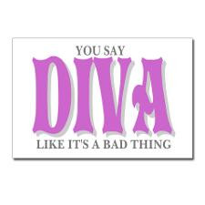 Diva Sayings Postcards