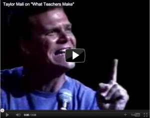 The original. Taylor Mali's response to a lawyer who mocked what ...