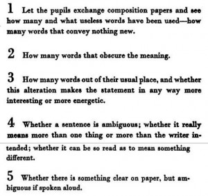 Ezra Pound's tests and composition exercises for young writers. Also ...